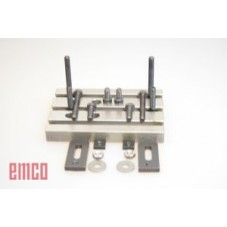 EMCO MILLING TABLE WITH 2 CLAMPS